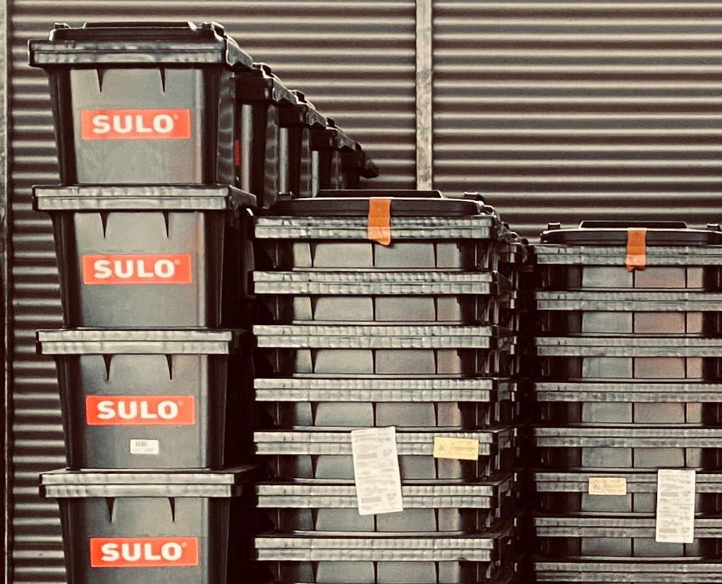 Einführung der Kunststoff-Restmüllbehälter mit 60,120,240 l